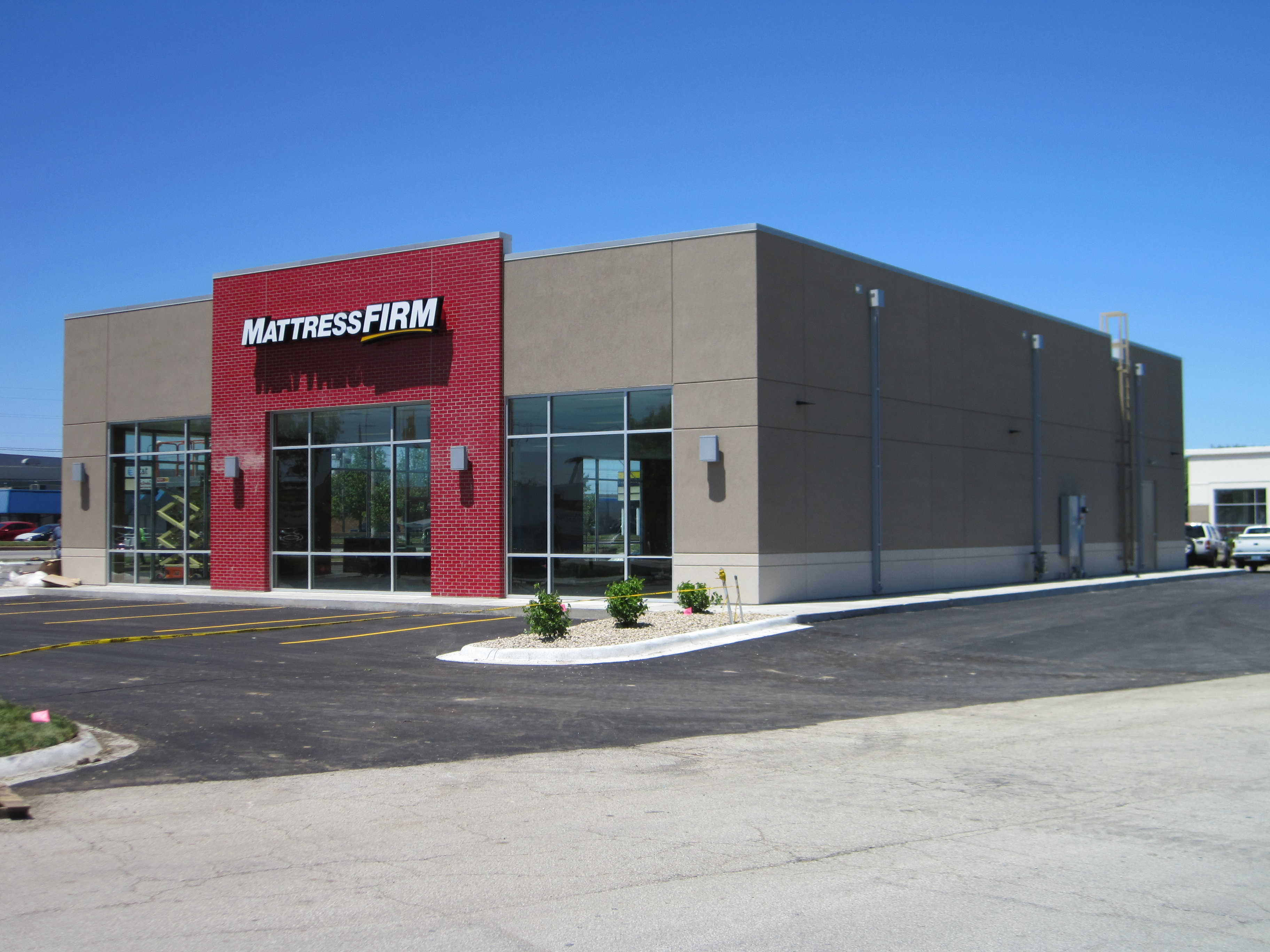 mattress firm building. New Retail Building 100% Leased To Mattress Firm . The Is 5,000 Square Feet And Sits On Approximately Half An Acre Of Land.